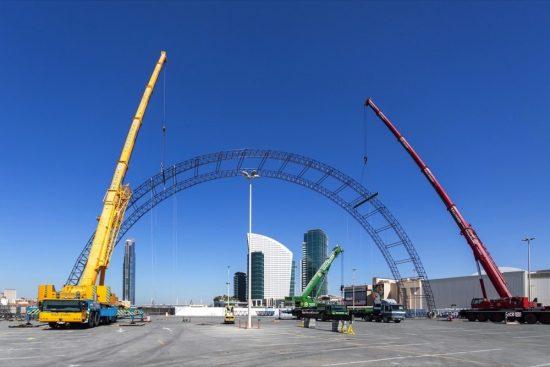 دبي فستيفال سيتي مول يعلن عن افتتاح حديقة القوس