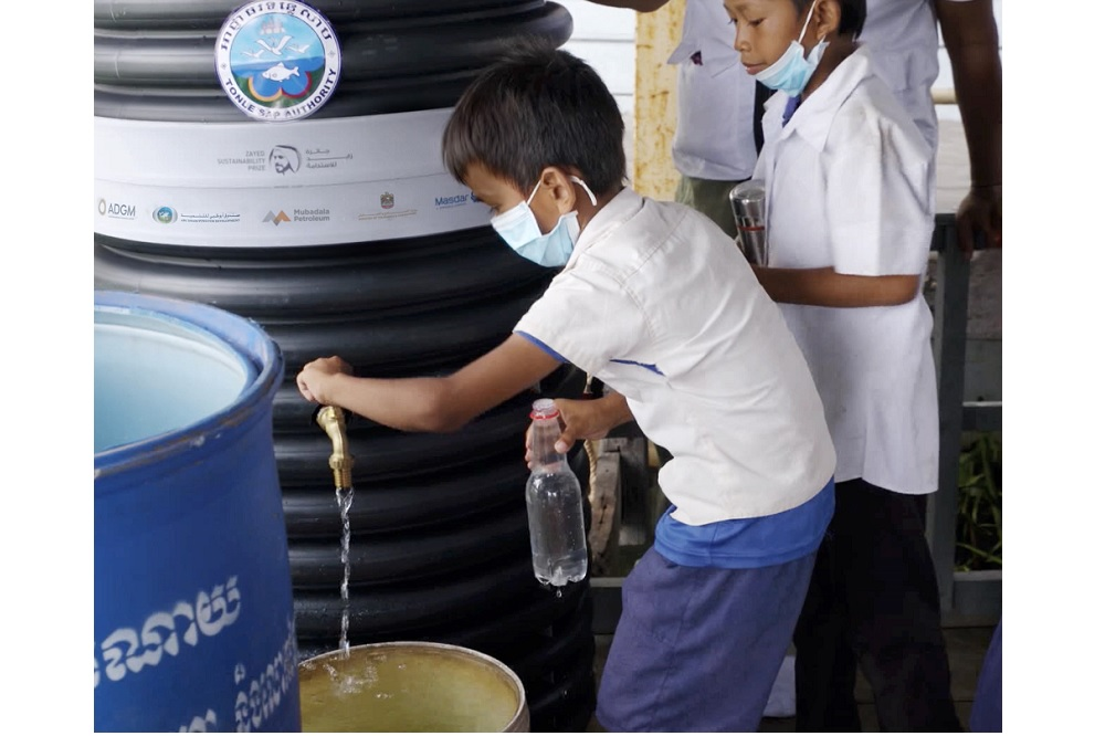 UAE's 20by2020 Initiative Brings Life-Changing Water Solution to Thousands in Cambodian Villages