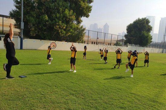 Horizon English School tackles Dubai Fitness Challenge 2020