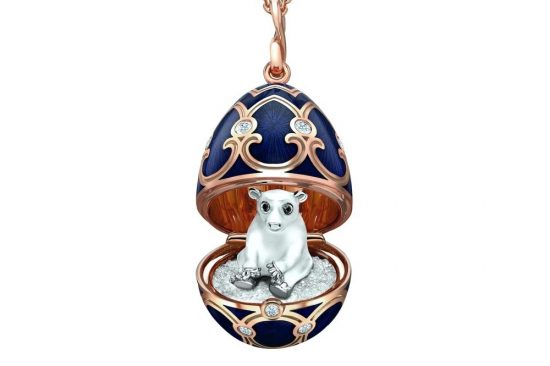 Fabergé Launches New Polar Bear Surprise Locket