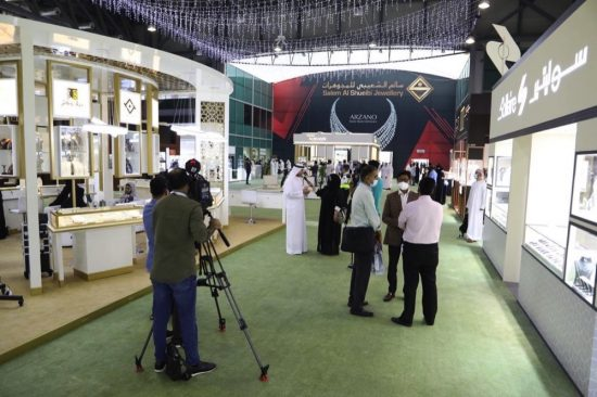 Emirati designers' pavilion captivate 'Jewels of Emirates' Show visitors