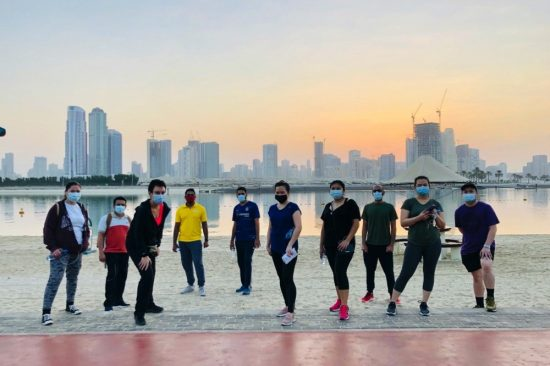 Dubai Fitness Challenge in  M Arabian Plaza