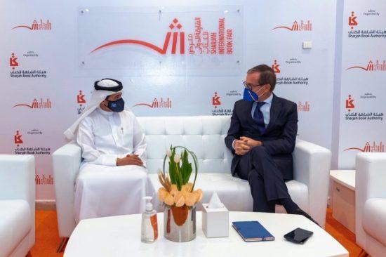 SBA Chairman and Italian Ambassador meet at SIBF 2020