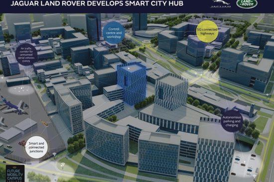 JAGUAR LAND ROVER DEVELOPS SMART CITY HUB