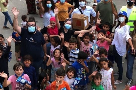 """Romina Mattar supports """"Feed the Need"""" after the Beirut explosion"""