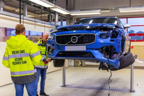 Volvo celebrates 50 years of Volvo Cars' Accident Research Team