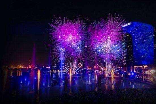 دبي فستيفال سيتي تقدم الفرصة للاحتفال بليلة رأس السنة