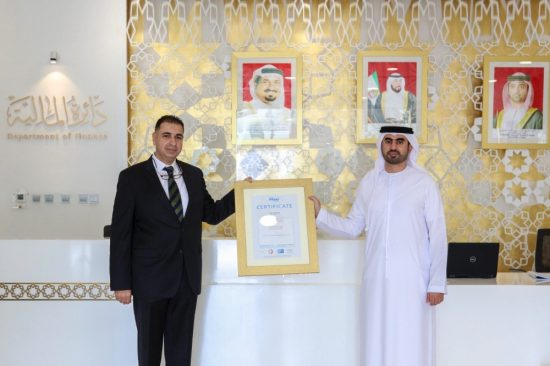 Ajman's Department of Finance receives 4 new ISO certifications