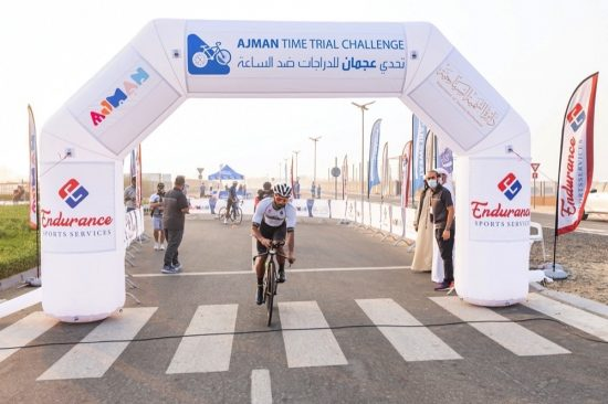Ajman Tourism Development Department concludes Ajman Time Trial Challenge