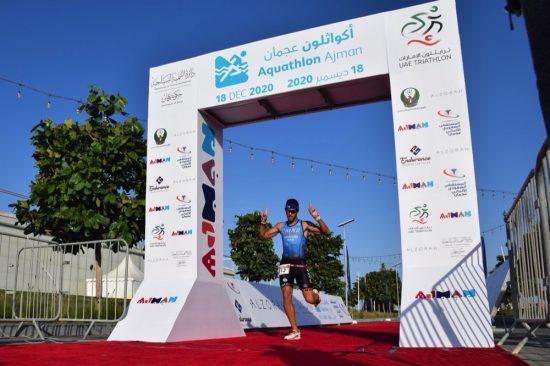 Ajman Tourism concludes Emirate's first Aquathlon