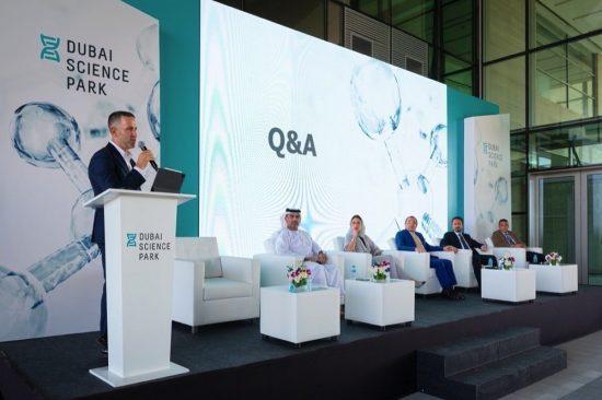 Dubai Science Park Welcomes International Business Delegation