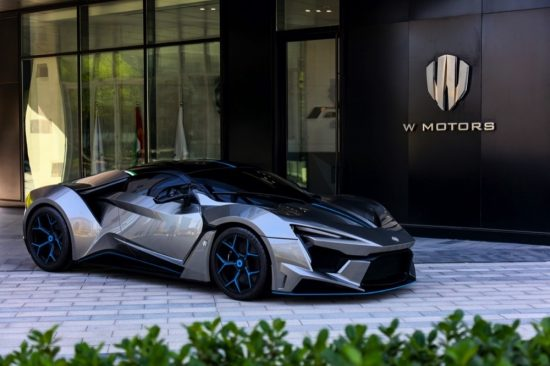 W MOTORS' FENYR SUPERSPORT TO BE OFFERED