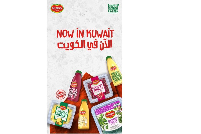 Fresh Del Monte Kuwait Announces the Addition of New Nutritious items to its Line of Fresh Products