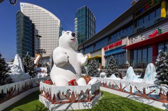 دبي فستيفال سيتي مول يقدم تجربة ساحرة بمناسبة موسم الأعياد