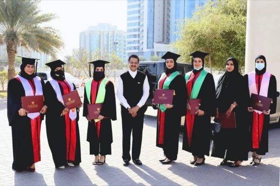 Gulf Medical University Graduated 354 Healthcare Professionals