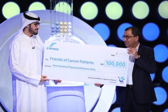 EWINGS donates AED 100,000 and signs agreement with Friends