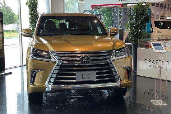 Al-Futtaim Lexus launches limited edition Lexus LX 2021 Gold Edition
