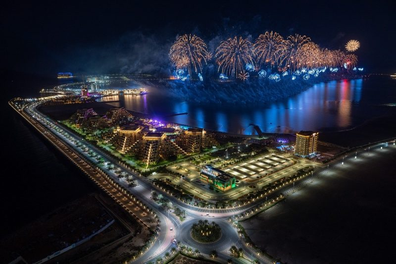 Ras Al Khaimah ushers in 2021 with one of the world's largest fireworks displays inspiring hope and confidence