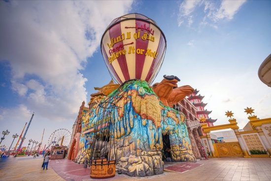 Visiting Ripley's Believe It or Not!® museum at Global Village