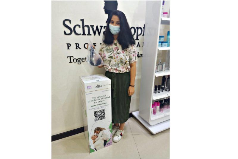 نجاح كبير لأول حملة للتبرع بالشعر برعاية زيت دابر أملا