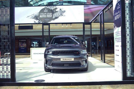سيارة دودج دورانجو 2021 المحدّثة في فعاليّة أوتو فست