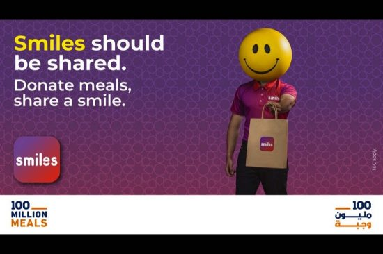 Smiles supports '100 Million Meals' humanitarian campaign