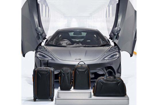 الحقائب وأكسسوارات السفر المستوحاة من McLaren