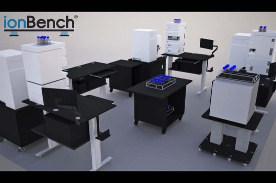 أيونبينش® الشركة المصنعة للمناضد المخبرية المتحركة