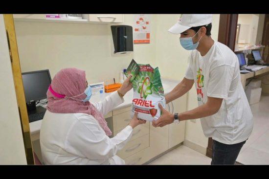 المستشفيات السعودية تتلقى مليون غسلة