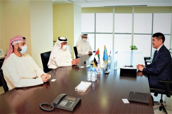 Emirates Post Group meets with Kazakhstan Ambassador