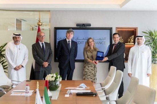 وكالتي ائتمان الصادرات الإماراتية والإيطالية تبحثان دعم المشاريع