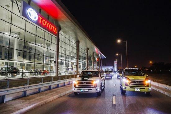 الفطيم تويوتا تطلق سيارة لاند كروزر الجديدة كلياً في الإمارات