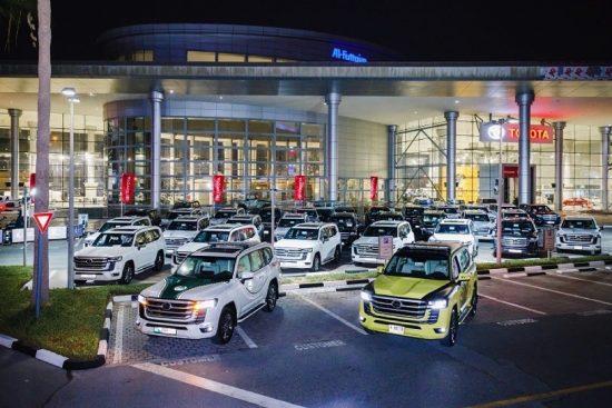 الفطيم تويوتا تحتفي بأول خمسين عميل لسيارة لاند كروزر الجديدة كلياً