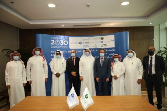 شركة إنجي في السعودية توقع عقد بناء وتملك وتشغيل محطة الجبيل-3 ب