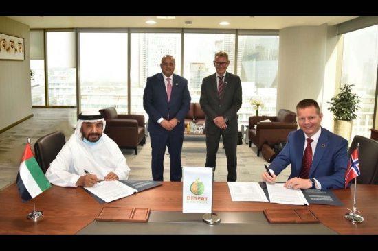 """توقيع اتفاقية شراكة طويلة الأمد بين """"شركة موارد القابضة للاستثمار ذ.م.م."""""""