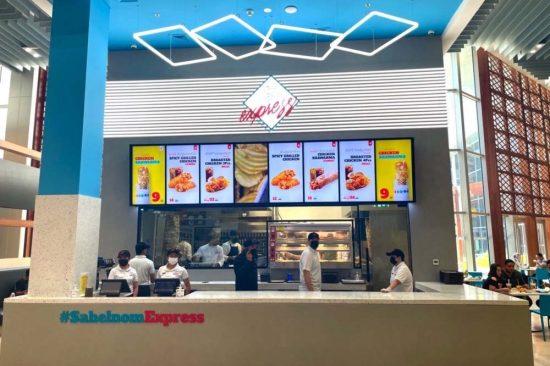 الآن يمكن لجميع زوار دبي مول الاستمتاع بأشهى الأكلات والمقبلات السورية