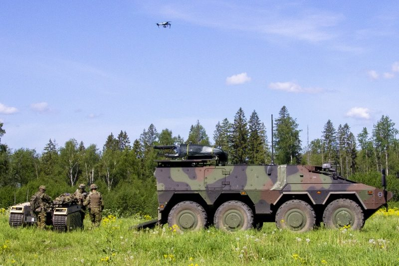 iMUGS Consortium Demonstrated Manned-Unmanned Teaming Capabilities, Led by Milrem Robotics