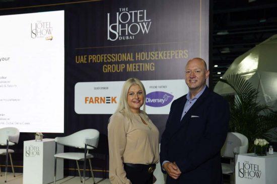 Farnek experts address Hotel Show delegates
