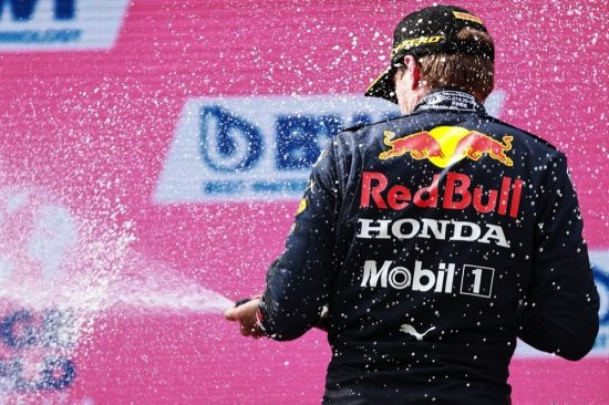 Victory For Verstappen In Austria – Five In A Row For Honda Power! #F1