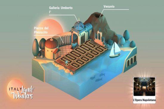 لعبة فيديو جديدة تنقل التراث الثقافي والتقاليد الإيطالية إلى المنطقة والعالم