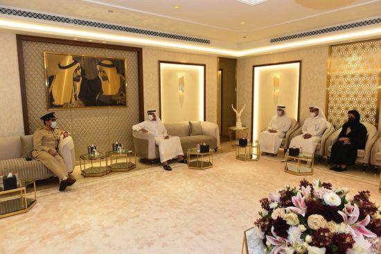 جمارك دبي تبحث تعزيز التعاون والتنسيق مع جمعية الامارات للملكية الفكرية