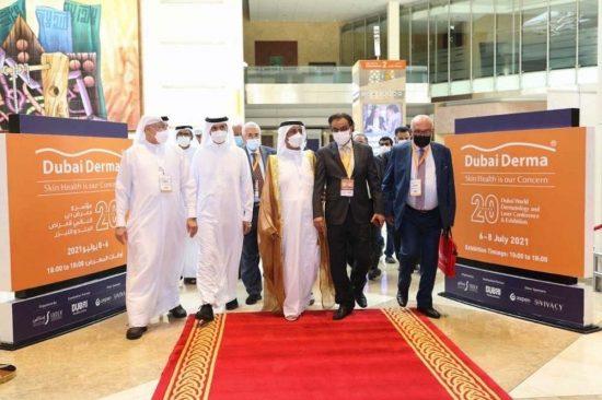 Hasher Bin Maktoum Al Maktoum Inaugurates the 20th