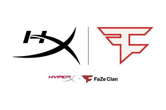HyperX Named Official Gaming Microphone Partner of FaZe Clan