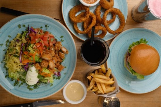 BURGER BRUNCH FOR LUNCH AT GBK FOR JUST AED 45