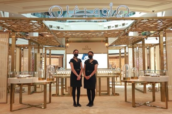 Rivoli Group Hosts Pop-Up Boutique by OMEGA at Mirdif City Center