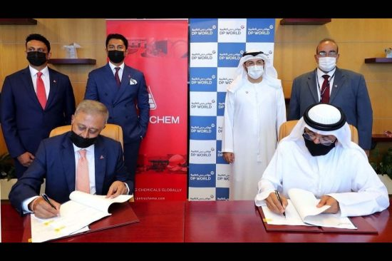 DP WORLD, UAE REGION SIGNS LEASE AGREEMENT