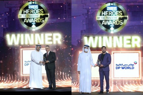 DP WORLD, UAE REGION RECOGNISED AS HERO OF THE PANDEMIC