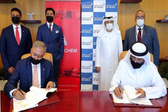 DP WORLD, UAE REGION SIGNS LEASE AGREEMENT WITH