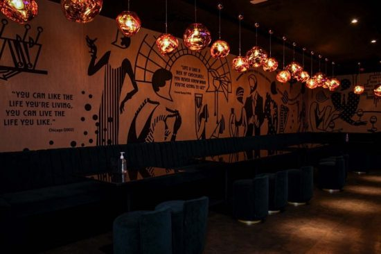 Experience Decadent Indian Fusion Cuisine and Modern Lounge Vibes