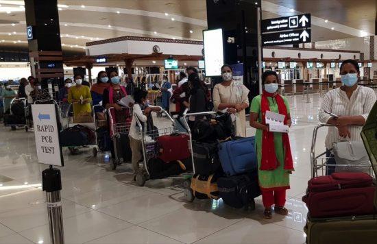 Zulekha Hospital Medical Staff return to UAE after Special Permission
